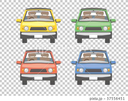 首页 插图 姿势_表情_动作 构图 正面 汽车 车 车子  *pixta限定素材