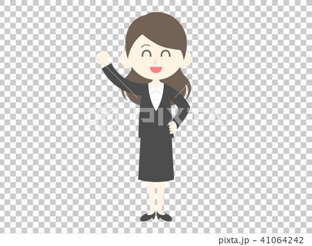 插图素材: 女商人