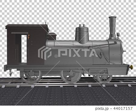 插图素材: 火车头 机车 动力