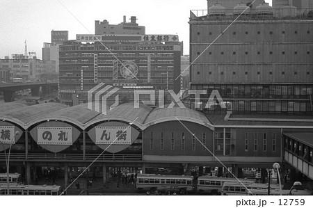 渋谷・渋谷駅俯瞰、 昭和43年 12759