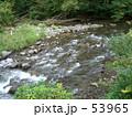十和田湖近辺にて。ある清流の流れ 53965