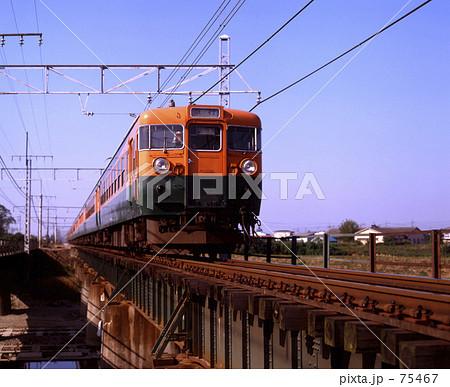 JNR・急行「信州6号」306M 東北本線 75467