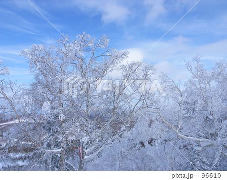 青空と樹氷 96610