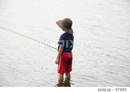 釣る少年 97885