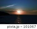 深浦 夕陽 101067