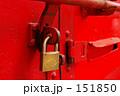 南京錠と赤い扉 ~路地裏探訪~ 151850