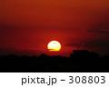 sunset  308803