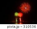 弁天島花火 310536