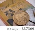 オーストラリアドル 紙幣とコイン 337309
