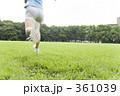ランニング 若い女性 ジョギングの写真 361039