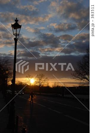 ベルリンの街灯(夕暮れ) 363511