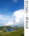 高原の湖 390118