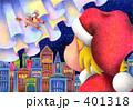 クリスマスイブ サンタクロース クリスマスのイラスト 401318