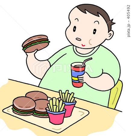 健康テーマ「カロリー過多」 405492