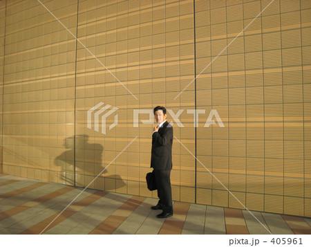 ビジネスマン 上司 夕暮れと影 405961