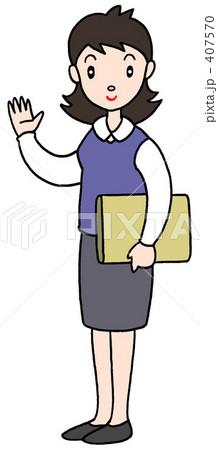 働く女性「事務・その他」 407570