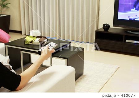 テレビのリモコン操作 410077