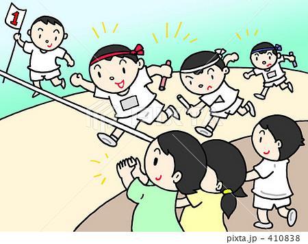 運動会 - リレー競争 410838