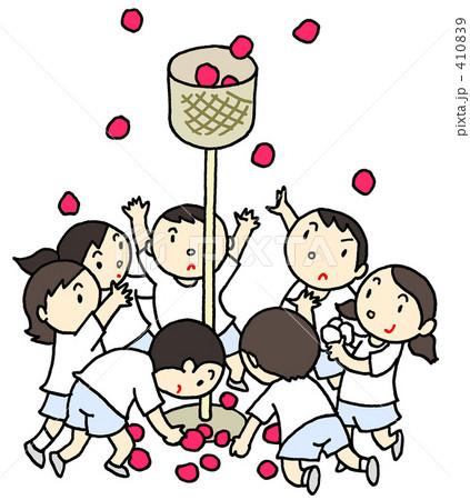 運動会 - 玉入れ 410839