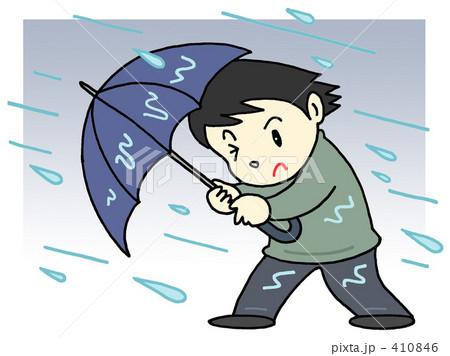 気象災害 - 暴風雨 410846