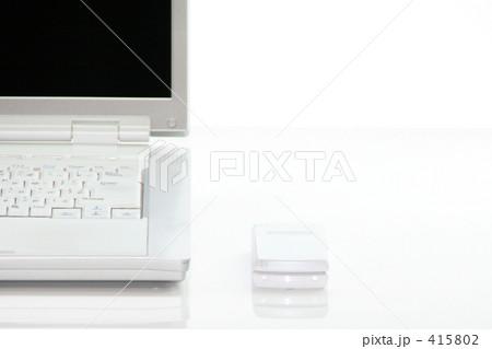 ノートPCと携帯 D8 415802