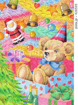 テディベアのクリスマスプレゼント 426505
