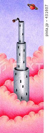 「塔」のイラスト.9 431607