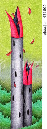 「塔」のイラスト.11 431609