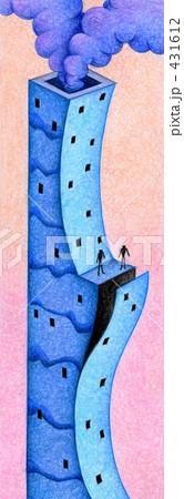 「塔」のイラスト.13 431612