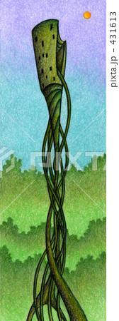 「塔」のイラスト.14 431613