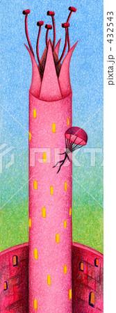 「塔」のイラスト.17 432543