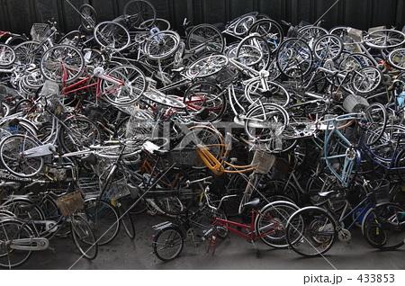 自転車の 自転車 廃棄 無料 : 山積みされた放置自転車の写真 ...