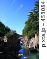 清流 厳美渓 磐井川の写真 453084