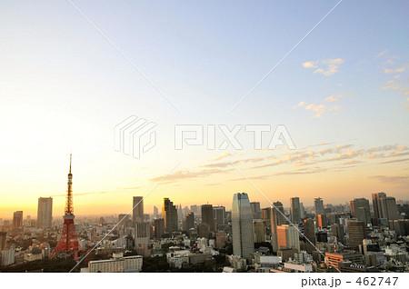 東京タワーとビル郡 462747