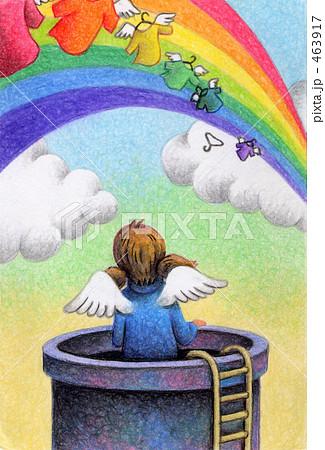 虹の物干し竿 463917
