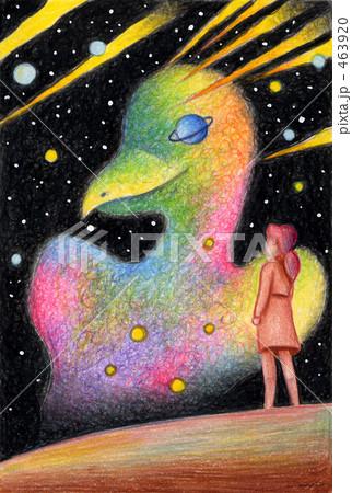 鳥の星雲 463920