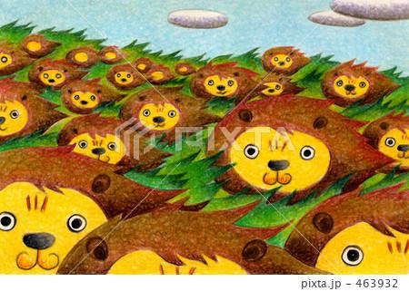 ライオン畑 463932