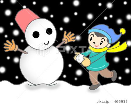 雪だるま 466955