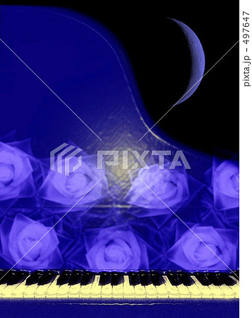 Blue Piano Time. 497647