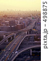インターチェンジ 高速道路 ジャンクションの写真 498875