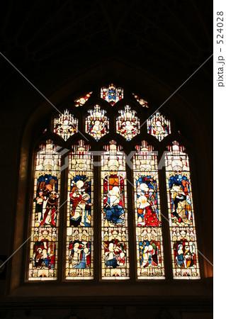 イギリス 教会のステンドグラス 524028