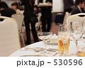 結婚式場のテーブル 530596