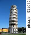 歴史的建造物 斜塔 ピサの斜塔の写真 531049