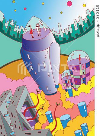 ロケットの旅 535119