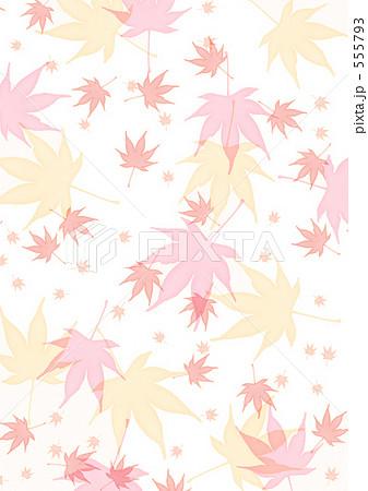 背景 10月11月 秋 もみじ 壁紙 紅葉 ちりばめる のイラスト素材