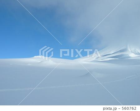旭岳に現る青空 560762