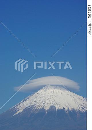 富士山と傘雲 562633