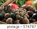 しいたけ クリ 秋の味覚の写真 574787