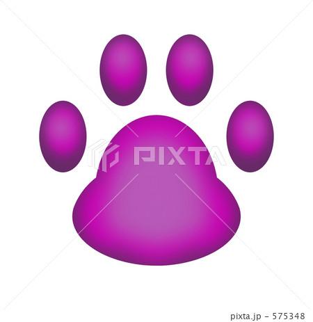 猫の肉球 CG イラスト 575348
