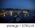 ライトアップ 長崎 港の写真 576116